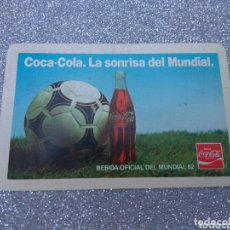 Coleccionismo Calendarios: CALENDARIO BOLSILLO COCA-COLA MUNDIAL 82. Lote 174098454