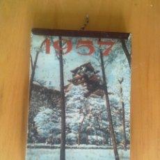 Coleccionismo Calendarios: CALENDARIO MISIONAL 1957,. Lote 174195718
