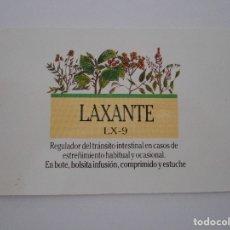 Coleccionismo Calendarios: SANTIVERI. DIETETICA Y SALUD. LAXANTE LX-9. CALENDARIO DE BOLSILLO AÑO 1991.. Lote 174243082