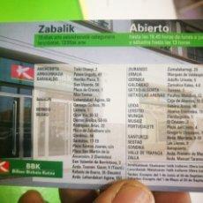 Coleccionismo Calendarios: CALENDARIO BBK 1998. Lote 174261202