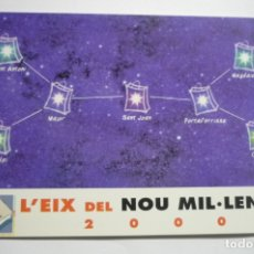 Coleccionismo Calendarios: CALENDARIO CAIXA PENEDES 2000-CATALAN. Lote 174345007