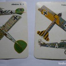 Coleccionismo Calendarios: LOTE CALENDARIOS EXTRANJEROS AVIONES ALEMANES 1986. Lote 174345194