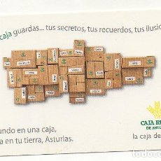 Coleccionismo Calendarios: CALENDARIO CAJA RURAL DE ASTURIAS 2013. Lote 174418933