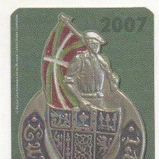 Coleccionismo Calendarios: CALENDARIO DISTINTIVO VASCO 2007. Lote 174419055