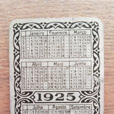 Coleccionismo Calendarios: CALENDARIO DE BOLSILLO METALICO 1925 EN IDIOMA CATALAN DE UNA EMPRESA ALEMANA EN BARCELONA. Lote 174461372