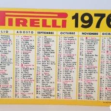 Coleccionismo Calendarios: CALENDARIO PIRELLI 1976.(CALENDARIO DE BOLSILLO). Lote 174482588