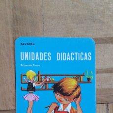 Coleccionismo Calendarios: CALENDARIO PUBLICITARIO - ENCICLOPEDIA MIÑON (VALLADOLID) - UNIDADES DIDACTICAS AÑO 1967 - VER FOTO . Lote 174542503