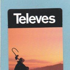 Coleccionismo Calendarios: CALENDARIO 2010 - TELEVES. XACOBEO. Lote 174995455