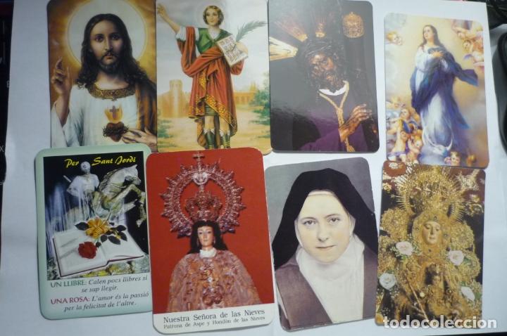 LOTE CALENDARIOS RELIGIOSOS DIF. AÑOS (Coleccionismo - Calendarios)