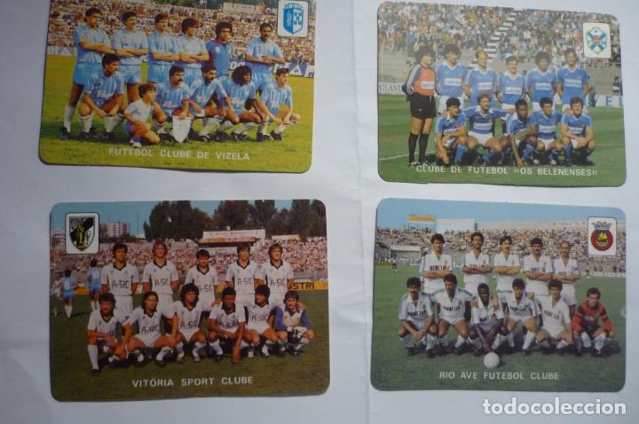 LOTE CALENDARIOS EXTRANJEROS 1985 -EQUIPOS FUTBOL PORTUGUESES (Coleccionismo - Calendarios)