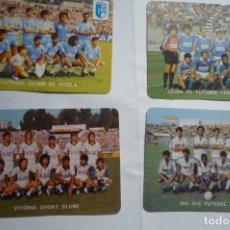 Coleccionismo Calendarios: LOTE CALENDARIOS EXTRANJEROS 1985 -EQUIPOS FUTBOL PORTUGUESES. Lote 175529320