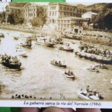 Coleccionismo Calendarios: CALENDARIO LA GABARRA SURCA EL NERVIÓN 1984 AÑO 2003. Lote 175532587
