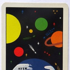 Coleccionismo Calendarios: CALENDARIO FOURNIER, VIAJES OLYMA ORENSE 1977. Lote 175547405