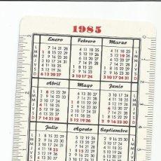 Coleccionismo Calendarios: CALENDARIO FOURNIER 1985 - 86 PARDO. Lote 175851200
