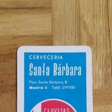 Coleccionismo Calendarios: CALENDARIO FOURNIER CERVECERIA SANTA BARBARA - CERVEZAS CRUZ BLANCA AÑO 1968 - PERFECTO ESTADO. Lote 175916835