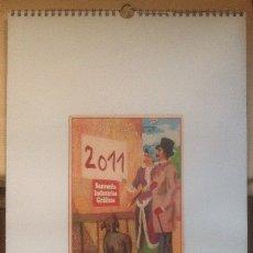 Coleccionismo Calendarios: CALENDARIO 2011. GRÁFICAS SANSUEÑA ZARAGOZA. GRAN FORMATO 68 X 30. Lote 175926293