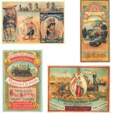 Coleccionismo Calendarios: LOTE DE 4 POSTALES CALENDARIO DE 1999. GRÁFICAS SANSUEÑA ZARAGOZA. EX. Lote 175948052