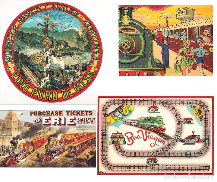 LOTE DE 4 POSTALES CALENDARIO DE 2001. GRÁFICAS SANSUEÑA ZARAGOZA. EX (Coleccionismo - Calendarios)