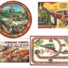 Coleccionismo Calendarios: LOTE DE 4 POSTALES CALENDARIO DE 2001. GRÁFICAS SANSUEÑA ZARAGOZA. EX. Lote 175948060