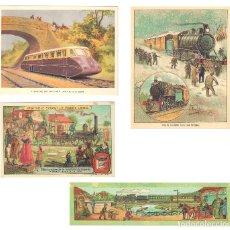 Coleccionismo Calendarios: LOTE DE 4 POSTALES CALENDARIO DE 2002. GRÁFICAS SANSUEÑA ZARAGOZA. EX. Lote 175984949