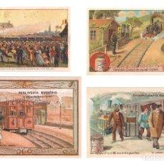 Coleccionismo Calendarios: LOTE DE 4 POSTALES CALENDARIO DE 2004. GRÁFICAS SANSUEÑA ZARAGOZA. EX. Lote 176015615