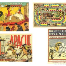 Coleccionismo Calendarios: LOTE DE 4 POSTALES CALENDARIO DE 2006 - GRÁFICAS SANSUEÑA ZARAGOZA. EX. Lote 176016310
