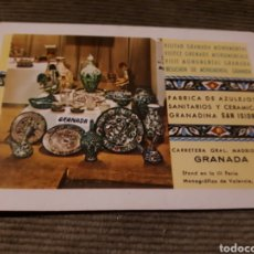Coleccionismo Calendarios: CALENDARIO DE BOLSILLO H FOURNIER FABRICA SAN ISIDRO AZULEJOS GRANADA 1968. Lote 176032582