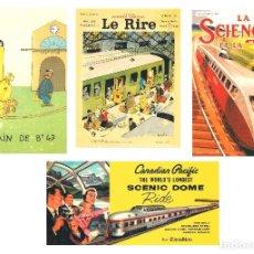 Coleccionismo Calendarios: LOTE DE 4 POSTALES CALENDARIO DE 2008 - GRÁFICAS SANSUEÑA ZARAGOZA. EX. Lote 176072023