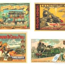 Coleccionismo Calendarios: LOTE DE 4 POSTALES CALENDARIO DE 2009 - GRÁFICAS SANSUEÑA ZARAGOZA. EX. Lote 176072855