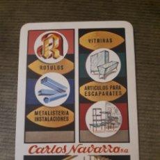 Coleccionismo Calendarios: CALENDARIO DE BOLSILLO H FOURNIER CARLOS NAVARRO 1974. Lote 176077159
