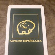 Coleccionismo Calendarios: CALENDARIO DE BOLSILLO H FOURNIER PAPELERA ESPAÑOLA 1972. Lote 176077559