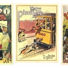 Coleccionismo Calendarios: LOTE DE 3 POSTALES CALENDARIO DE 2012 - GRÁFICAS SANSUEÑA ZARAGOZA. EX. Lote 176081773