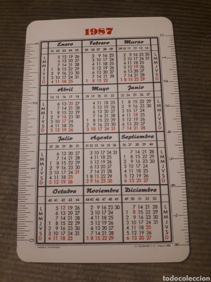 Coleccionismo Calendarios: Calendario de bolsillo H Fournier caja de ahorros municipal Kutxa san Sebastián 1987 - Foto 2 - 176085015