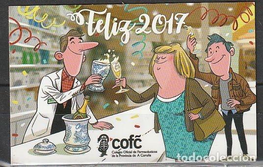 CALENDARIO BOLSILLO COFC 2017 POCKET CALENDAR KALENDER CALENDRIER KALENDAR (Coleccionismo - Calendarios)