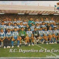 Coleccionismo Calendarios: CALENDARIO BOLSILLO DEPORTIVO CORUÑA 1996 POCKET CALENDAR KALENDER CALENDRIER KALENDAR. Lote 176133203