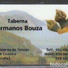 Coleccionismo Calendarios: CALENDARIO BOLSILLO PLASTIFICADO TABERNA HNOS. BOUZA 2017 POCKET CALENDAR KALENDER CALENDRIER KALEND. Lote 176134198