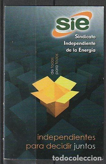 CALENDARIO BOLSILLO SIE 2011 POCKET CALENDAR KALENDER CALENDRIER KALENDAR (Coleccionismo - Calendarios)