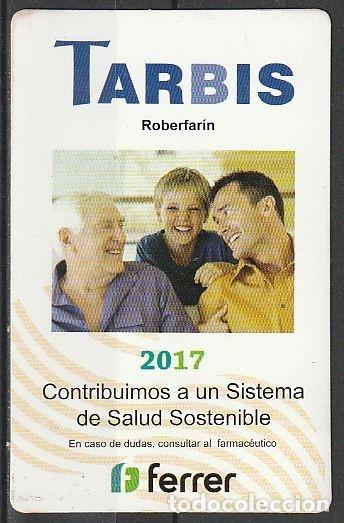 CALENDARIO BOLSILLO TARBIS 2017 POCKET CALENDAR KALENDER CALENDRIER KALENDAR (Coleccionismo - Calendarios)