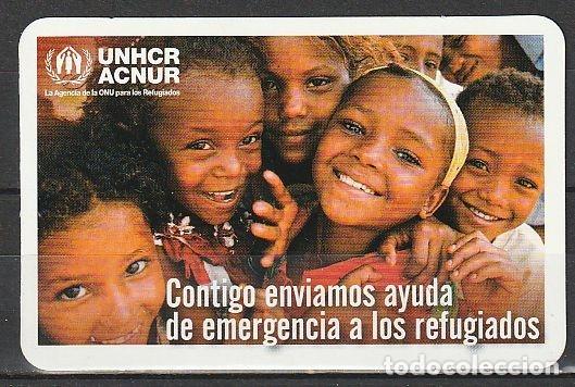 CALENDARIO BOLSILLO UNHCR ACNUR 2014 POCKET CALENDAR KALENDER CALENDRIER KALENDAR (Coleccionismo - Calendarios)
