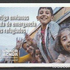 Coleccionismo Calendarios: CALENDARIO BOLSILLO UNHCR ACNUR 2016 POCKET CALENDAR KALENDER CALENDRIER KALENDAR. Lote 176134597