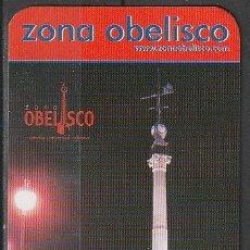 Coleccionismo Calendarios: CALENDARIO BOLSILLO ZONA OBELISCO CORUÑA 2004 POCKET CALENDAR KALENDER CALENDRIER KALENDAR. Lote 176136795