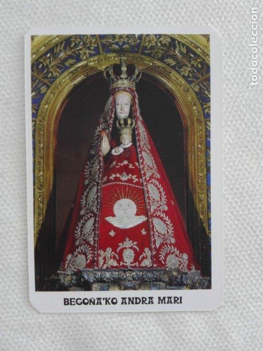 CALENDARIO BOLSILLO 2018 - BEGOÑAKO ANDRA MARI / PARROQUIA DE BEGOÑA - BILBAO BIZKAIA RELIGION (Coleccionismo - Calendarios)