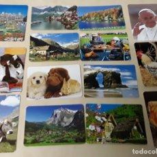 Coleccionismo Calendarios: 14 CALENDARIOS DE DISTINTOS AÑOS . Lote 176221038
