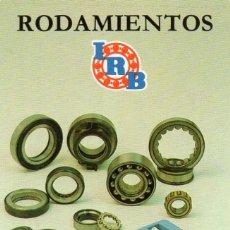 Coleccionismo Calendarios: CALENDARIO DE H. FOURNIER 1986 - RODAMIENTOS IRB.. Lote 210546618