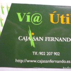 Coleccionismo Calendarios: CALENDARIO CAJA SAN FERNANDO 1999. Lote 176392335