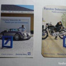 Coleccionismo Calendarios: LOTE CALENDARIOS DEUTSCHE BANK 2007-2009. Lote 176392559