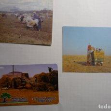 Coleccionismo Calendarios: LOTE CALENDARIOS LABORES DEL CAMPO 1992-2001. Lote 176408442