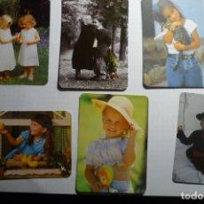 Coleccionismo Calendarios: LOTE CALENDARIOS VARIOS AÑOS NIÑOS. Lote 176408858
