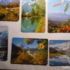 Coleccionismo Calendarios: LOTE CALENDARIOS DIF AÑOS PAISAJES. Lote 176408993