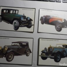 Coleccionismo Calendarios: LOTE CALENDARIOS EXTRANJEROS COCHES ANTIGUOS 1993. Lote 176410827